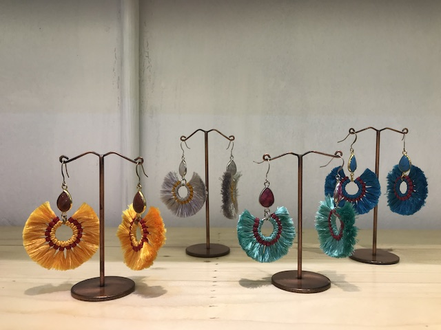 Bangkok boho earrings
