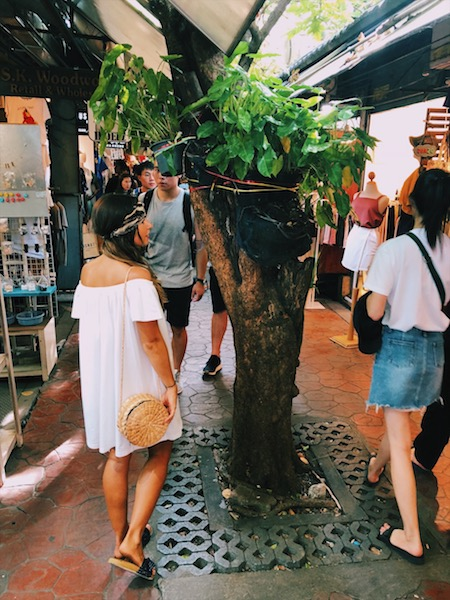 Chatuchak market shopping