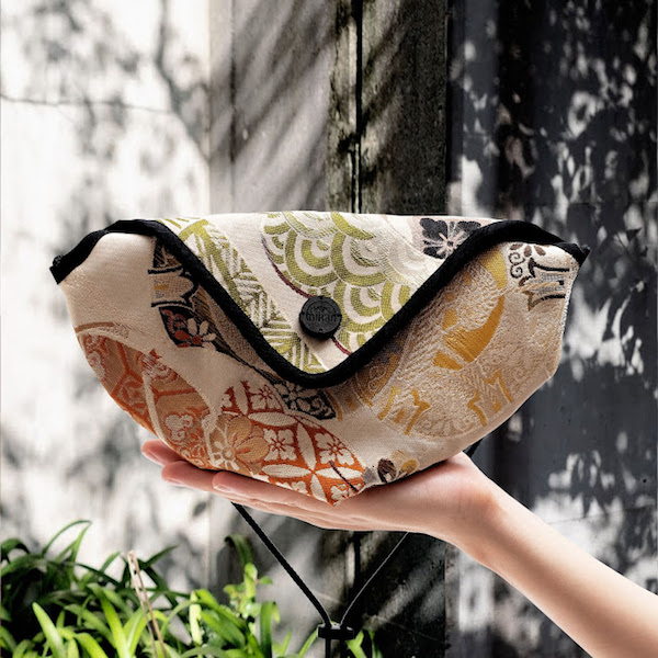 The upcycled handbags of Mikan: made from ancient Japanese kimonos