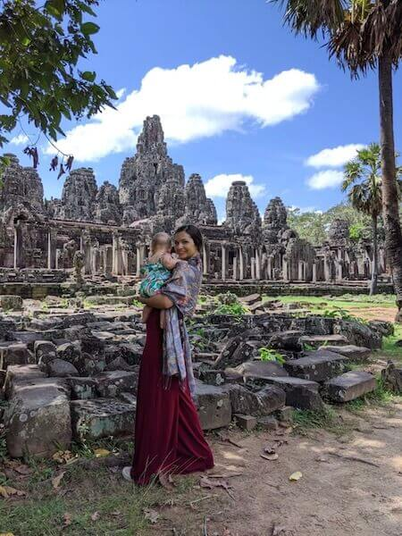 Traveling with a baby to Siem Reap