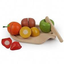 Plantoys fruit set wooden toys Thailand